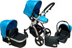 Miko Travel System Blue