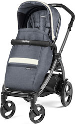 Peg Perego Book 51 Jet Ergonomic Handle Pop Up Completo Luxe Mirage