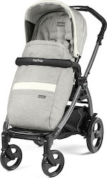Peg Perego Book 51 Jet Ergonomic Handle Pop Up Completo Luxe Pure