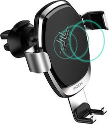 Rock Gravity Vent Car Mount & Wireless Fast Charger (RWC0246)