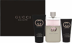 Gucci Guilty Eau de Toilette 75ml, Body Lotion 100ml & Shower Gel 50ml