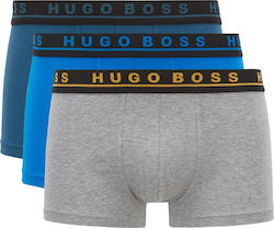 Hugo 3 Pack Boxers Trunk-Multi Colors (Εσώρουχα Ανδρικό Cotton Multi Colors - 50395259/961)