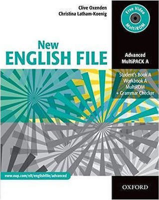 NEW ENGLISH FILE ADVANCED MULTI PACK A