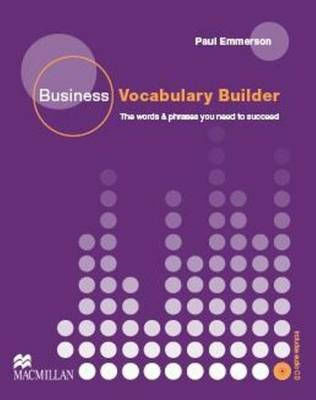 BUSINESS VOCABULARY BUILDER INTERMEDIATE + UPPER-INTERMEDIATE (+ AUDIO CD)