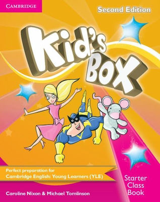 KID'S BOX STARTER Student 's Book (+ CD-ROM) 2nd edition
