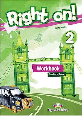 RIGHT ON ! 2 Teacher 's book workbook (+ DIGIBOOKS APP)