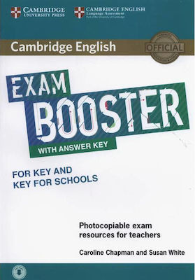 CAMBRIDGE ENGLISH EXAM BOOSTER KEY & KEY FOR SCHOOLS (+ AUDIO) W/A