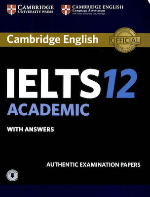 CAMBRIDGE IELTS 12 ACADEMIC SELF STUDY PACK (+ DOWNLOADABLE AUDIO)