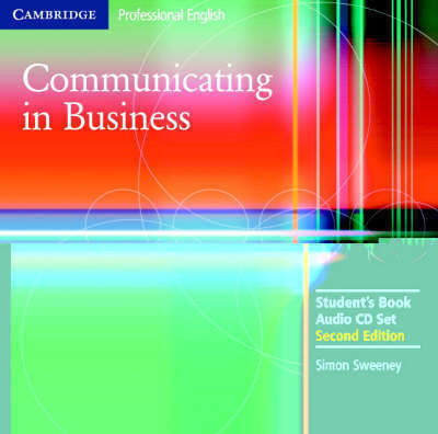 COMMUNICATING IN BUSINESS CD CLASS 2nd edition