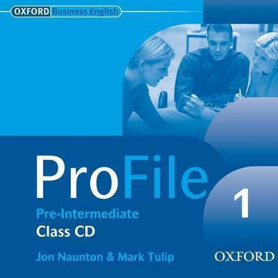PROFILE 1 PRE-INTERMEDIATE CD CLASS