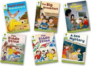 OXFORD READING TREE (STAGE 7) - PACK OF 6 TITLES PB