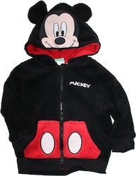 Disney Baby Mickey Mouse βρεφική ζακέτα Fleece Coral (HQ0080) μαύρο