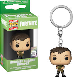 Pocket Pop! Keychain Games: Fortnite - Highrise Assault Trooper