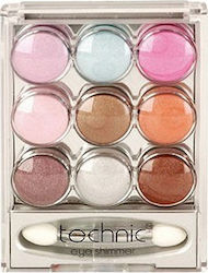 Technic 9 Pot Eye Shimmer Set 1