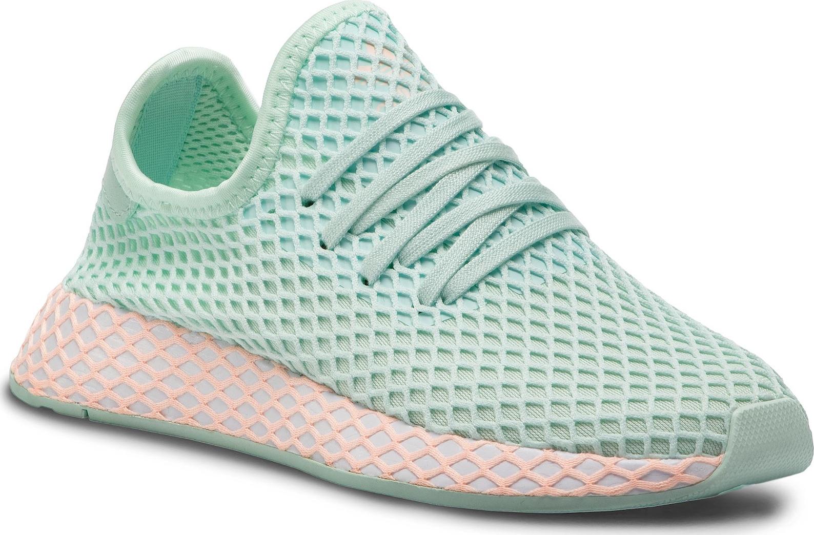 innowacyjny design szczegółowe obrazy najnowszy Adidas Deerupt Runner J CG6841