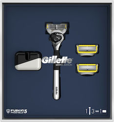 Gillette Fusion Proshield Limited Edition Pack With Razor + 2 Refill + Stand