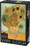 Sunflowers Vincent Van Gogh 1000pcs (66916-01) D-Toys