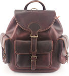 Kouros Leather Bag 402 Bordeaux