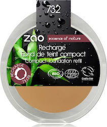 Zao Organic Makeup Organic Compact Make Up Refill 732 Rose Petal 6gr