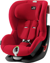Britax Romer King II LS Fire Red - Black