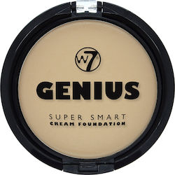 W7 Cosmetics Genius Cream Foundation Natural Beige 6gr