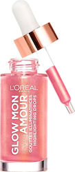 L'Oreal Glow Mon Amour Highlighting Drops 04 Melon Dollar Baby 15ml