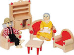 Goki Furniture for Flexible Puppets Living Room