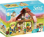 Playmobil Spirit Riding Free: Barn With Lucky, Pru & Abigai