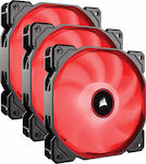 Corsair Air Series AF120 Red (Triple Pack)