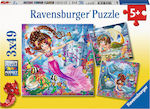 Enchanting Mermaids 3x49pcs (08063) Ravensburger