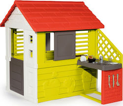 Smoby Nature Playhouse with Summer Kitchen New
