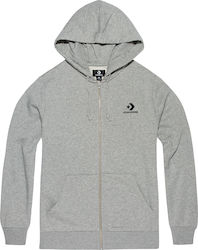 Converse Star Chevron Embroidered Full Zip Hoodie 10008813-A03 586e865eec9