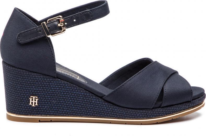 0e103fa403b5 Παρόμοια προϊόντα  Πίσω στο αρχικό προϊόν. Tommy Hilfiger Feminine Wedge  Sandal Basic ...