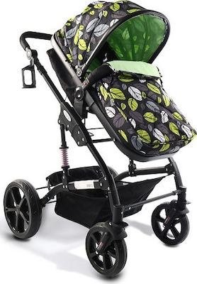 Moni Pavo 2 in 1 Black Frame Green
