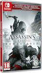 Assassin's Creed III Remastered Switch