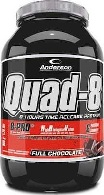 Anderson Quad 8 8 Hours Release Protein 800gr Σοκολάτα