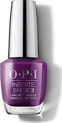 OPI Infinite Shine 2 Samurai Breaks A Nail