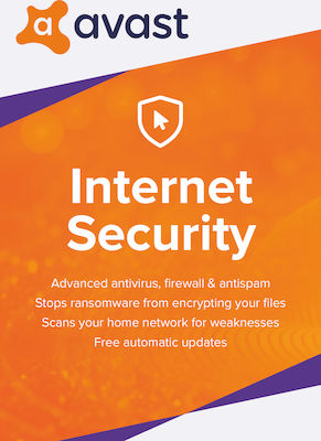 Avast! Internet Security 2019 (1 Licences , 2 Year) Key