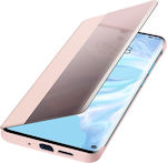 Huawei Smart View Flip Cover Book Ροζ (Huawei P30 Pro)