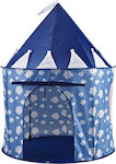 Kids Concept Play Tent Clouds Blue