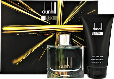 Dunhill Black Men Gift Set Eau de Toilette Spray 100ml & After Shave Balm 150ml