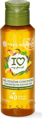 Yves Rocher Concentrated Shower Gel Mango Coriander 100ml