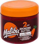 Malibu Bronzing Butter Sun Body Lotion SPF2 300ml