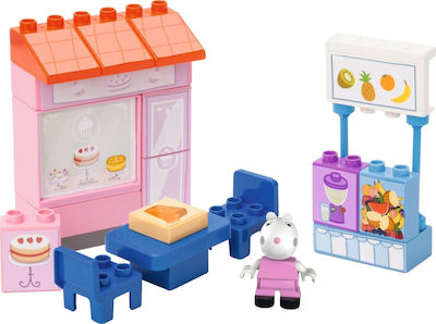 Big Bloxx Peppa Pig Cake Shop 22τμχ