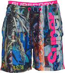 Ανδρικό Μαγιό Superdry Swim Short Photographic Volley M30014AT-Q2H