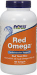 Now Foods Red Omega (Red Yeast Rice) 180 μαλακές κάψουλες