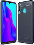 Carbon Fiber Brushed Μπλε (Huawei P30 Lite)