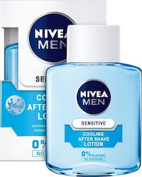 Nivea Sensitive Cooling After Shave Lotion 0% Alcohol No Burning 100ml