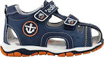 IQ Shoes Junior 130 Navy Μπλε
