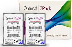 c673e63faf Optimal Vision Day30 Μυωπίας-Υπερμετρωπίας Μηνιαίοι 2τμχ